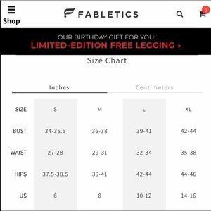 Fabletics Pants - Fabletics || High Compression Legging Sz S